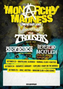 Monarchy madness poster